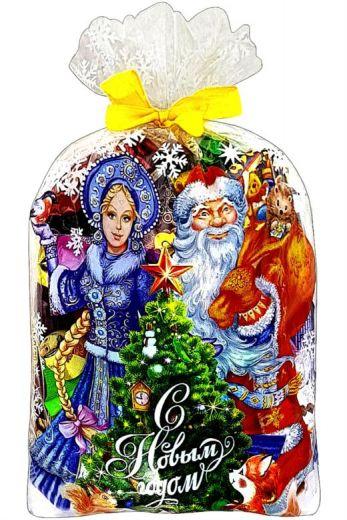Сладкий набор Дед Мороз со Снегурочкой