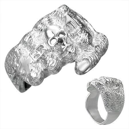 Перстень стальной RRMT03411