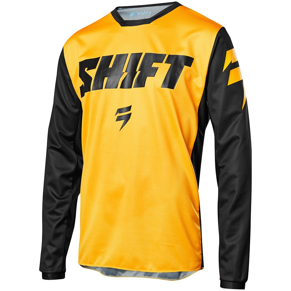 Shift - 2018 Whit3 Ninety Seven джерси, желтое