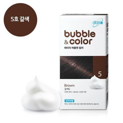 Атоми краска-мусс для волос 5 brown G