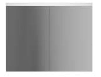 Зеркало-шкаф с подсветкой Am.Pm Spirit V2.0 80 (Спирит V2.0) 81х56 ФОТО