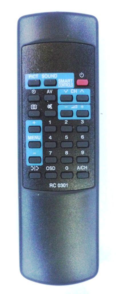 Philips RC0301/01 (TV) (14GX8310, 14GX8510, 14GX8512, 14PT230A/59R, 20GX3755, 20GX8350, 20GX8550, 20GX8552, 21PT118A, 21PT128A, 21PT132A, 21PT133A, 21PT137A, 21PT138A)