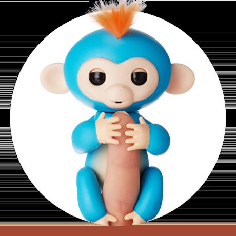 Интерактивная обезьянка Fingermonkey  Борис