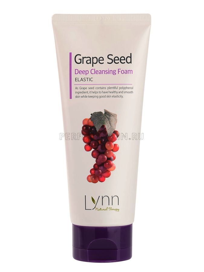 Welcos Natural Therapy Lynn  Grape Seed Deep Cleansing Foam 120g