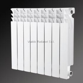 Алюминиевый радиатор Vivaldo Classic 500/80 8 секций