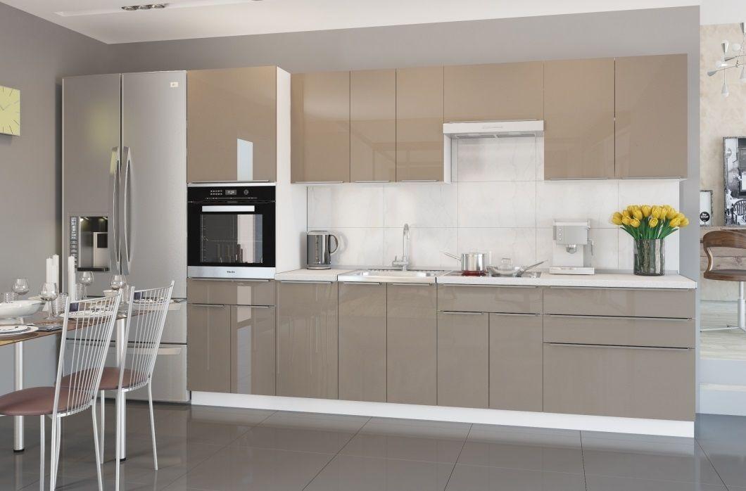 Кухня Акрилит 3м