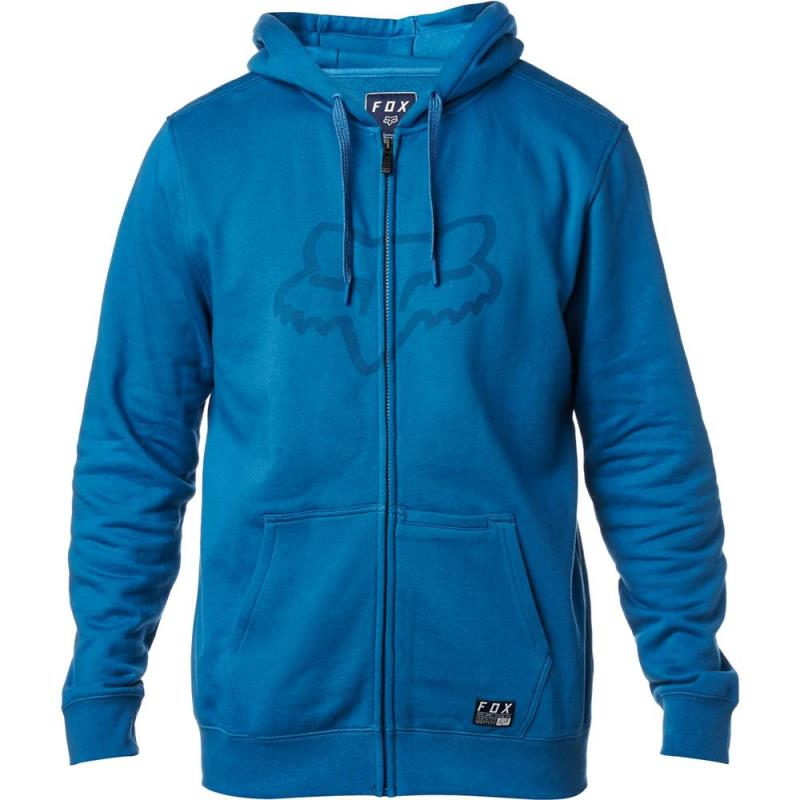 Fox - District 3 Zip Fleece Dust Blue толстовка, синяя