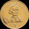 Станислав Лещинский(1704-1709; 1733-1736) 2 злотых 2003