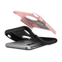 Чехол Spigen Slim Armor для iPhone X розовое золото