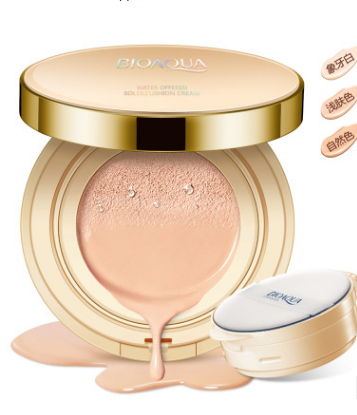 Сushion ВВ Cream «BIOAQUA».  пудра15 гр запасной блок 15 гр(4228)