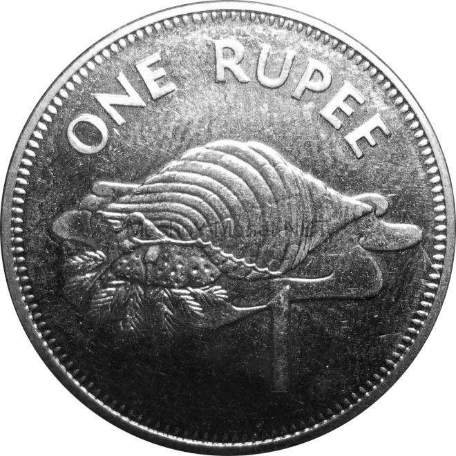 Сейшелы 1 рупия 2007 г.