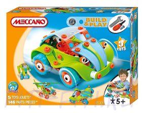 Meccano. Build&Play. Набор «Весёлый автомобиль», 5 моделей