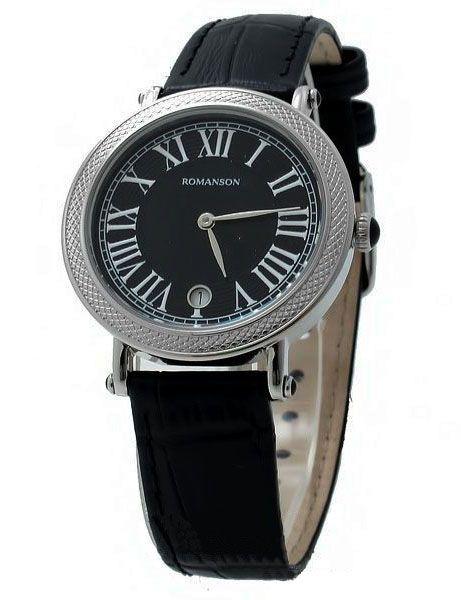 Часы ROMANSON RL1253LW(BK)
