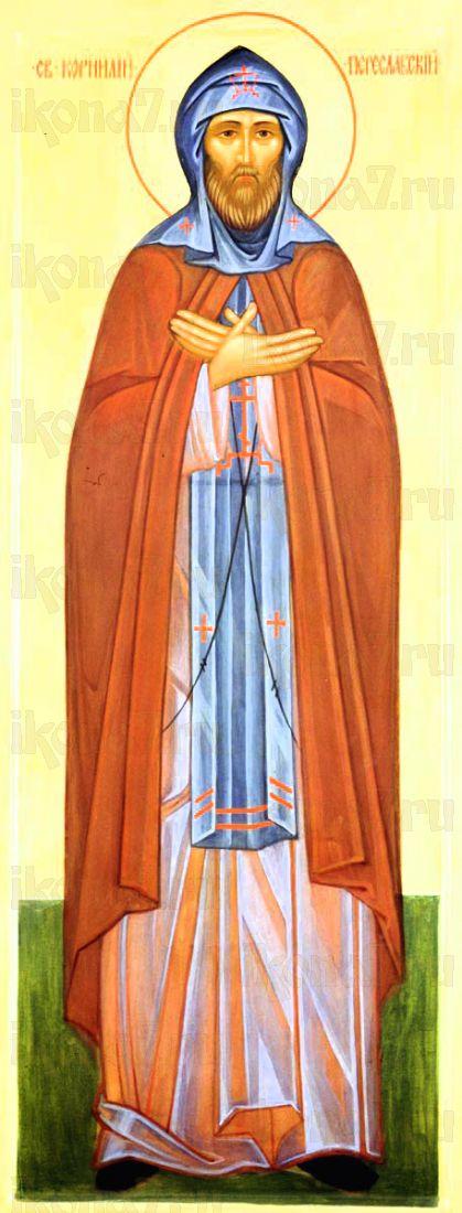 Корнилий Переславский (рукописная икона)