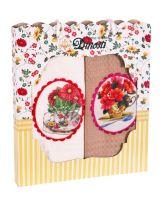Подарочный набор вафельных полотенец (2шт) №0-72