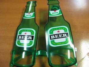 Очки - пивные бутылки