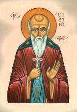 Пимен Великий (рукописная икона)