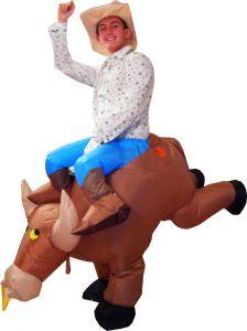 Ковбой на буйволе