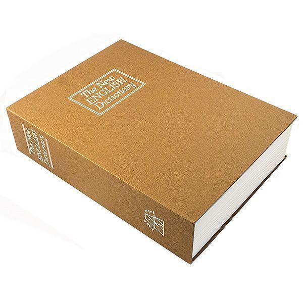 Книга сейф Английский словарь 24 см коричневый