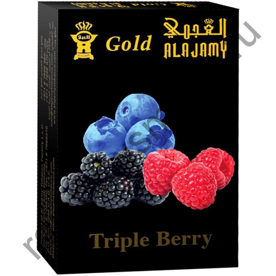 Al Ajamy Gold 50 гр - Triple Berry (Тройной ягодный)
