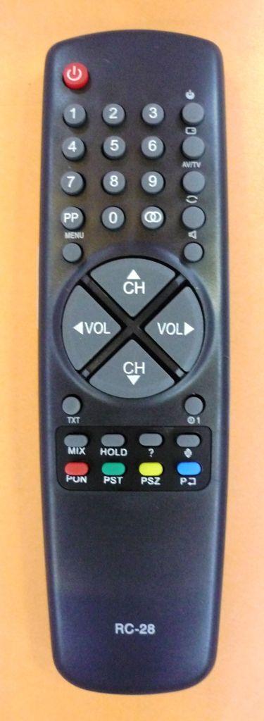 Polar RC-28 (TV с t/t) (POLAR-3701, POLAR-5100, POLAR-5101, POLAR-5401)