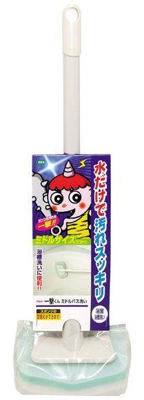 908101 Губка для ванной меламиновая (ручка 40см)