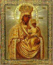 Икона Черниговская Гефсиманская икона Божией Матери