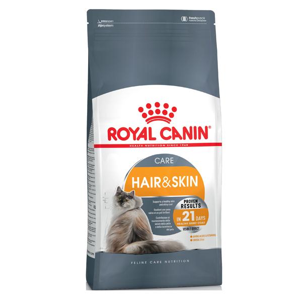 Сухой корм для кошек Royal Canin Hair & Skin Care с птицей