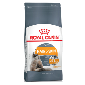 Корм сухой Royal Canin Hair & Skin Care для кошек с птицей 0.4кг