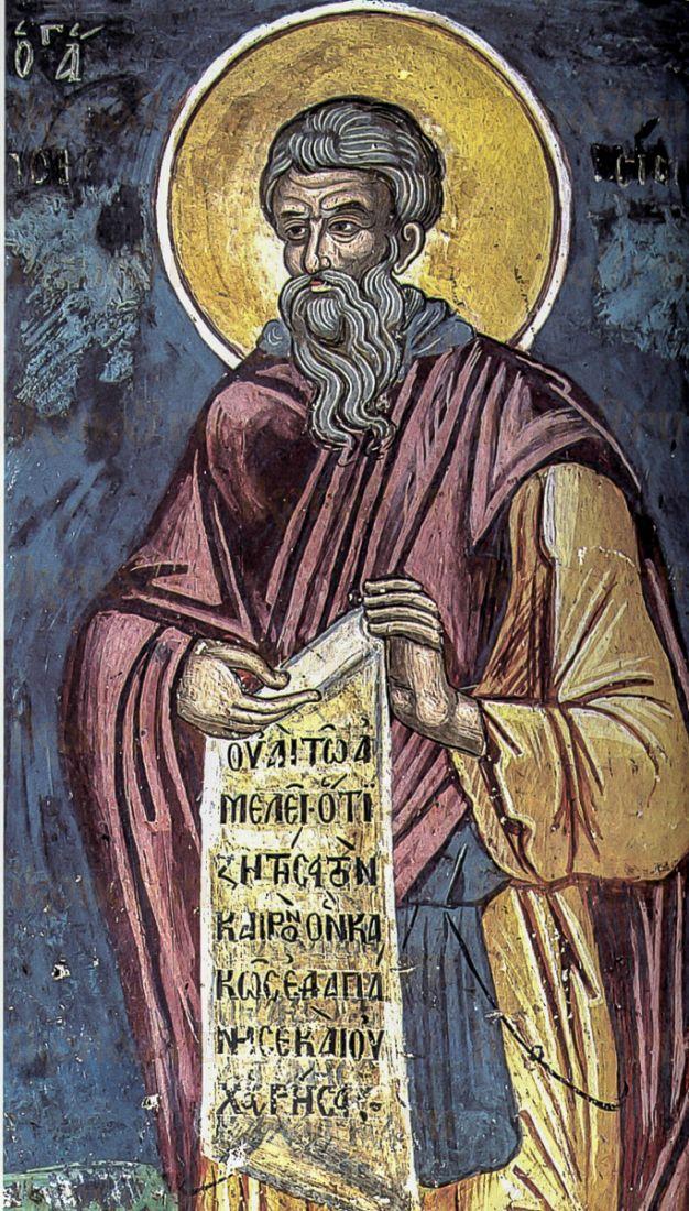 Сисой Великий (копия старинной иконы)