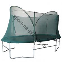 Батут Oval Trampoline . Комплект с защитной сетью