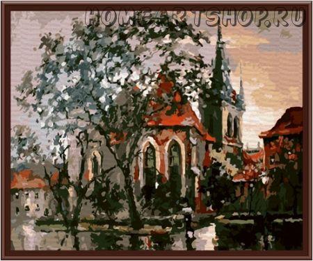 """Картина по номерам """"Осень в Праге"""""""