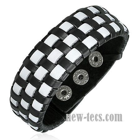 Кожаный браслет  LBBF39811