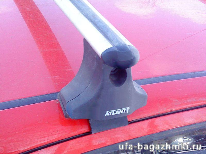 Багажник на крышу Hyundai Getz, Атлант, аэродинамические дуги