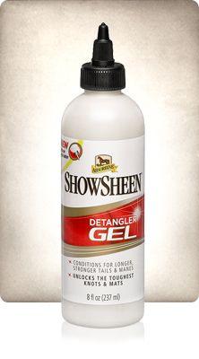 ShowSheen Detangler Гель-полироль  для гривы и хвоста