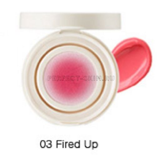 The Saem Eco Soul Bounce Cream Blusher 03 Fired Up 6g