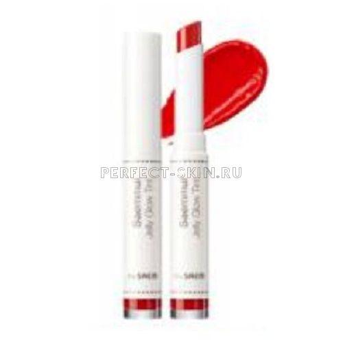 The Saem Lip Saemmul Jelly Glowtint Rd01 Cassis Orange 1,8g