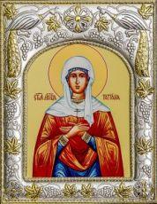 Татьяна Римская (14х18), серебро