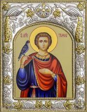 Трифон, мученик (14х18), серебро