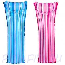 Summer Escapes. Матрасы разноцветные надувные в полоску (голубой и розовый), 69х184 см