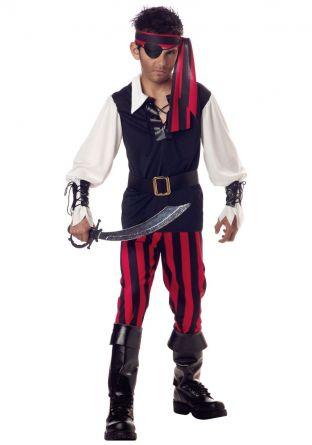 Костюм пирата бунтаря детский