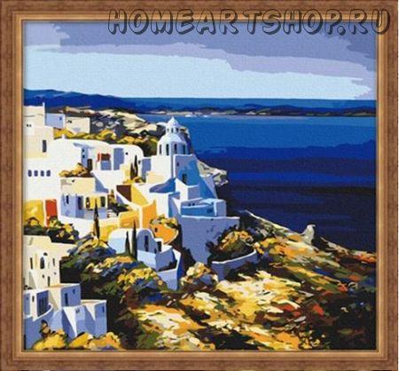 """Картина по номерам """"Средиземноморский пейзаж"""""""