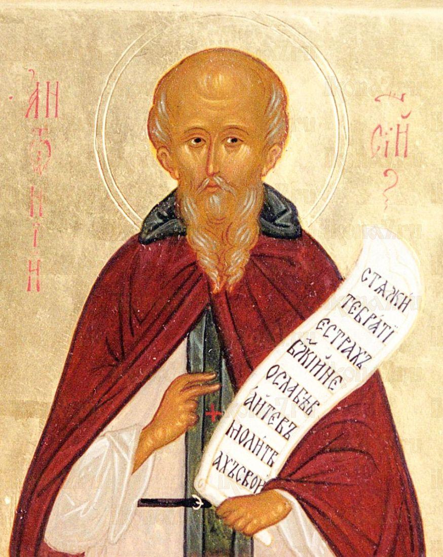 Антоний Сийский (копия старинной иконы)