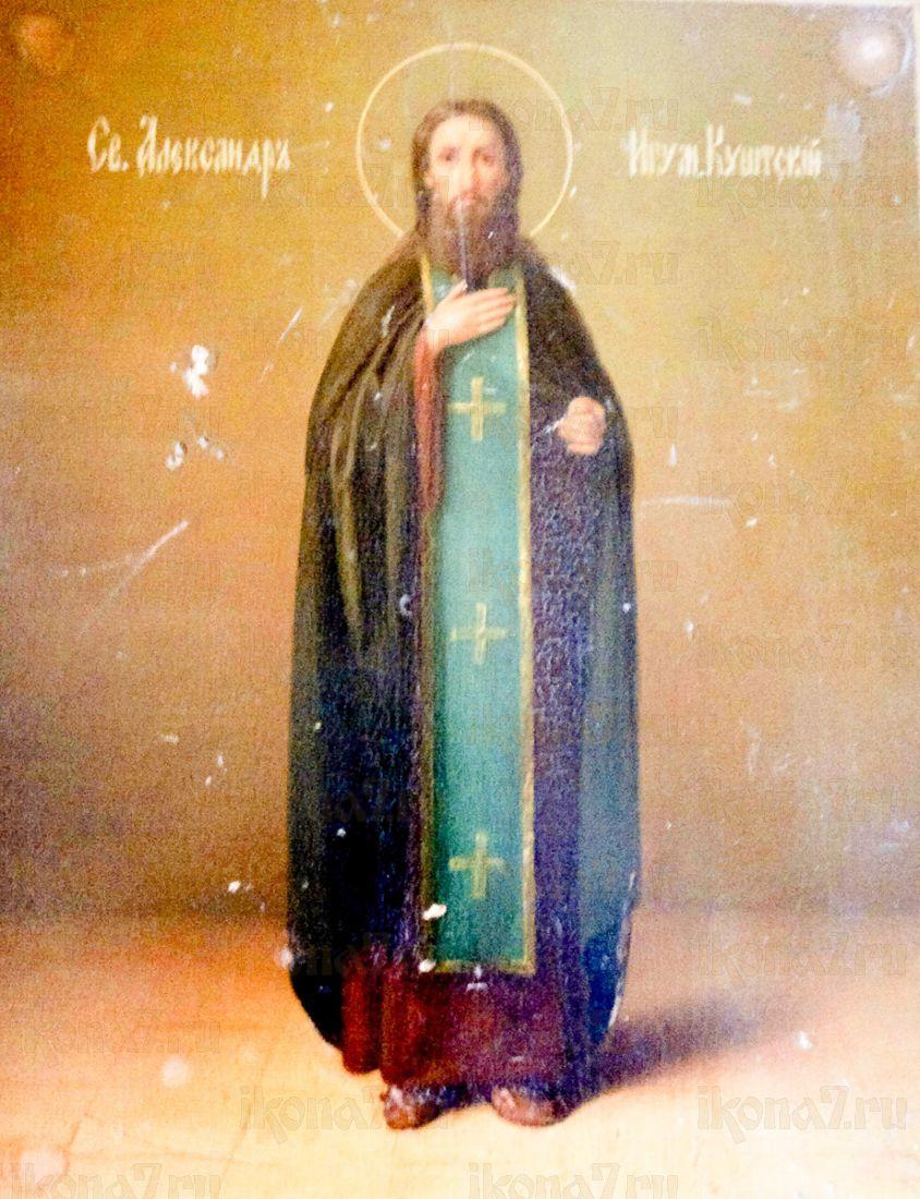 Александр Куштский (копия старинной иконы)