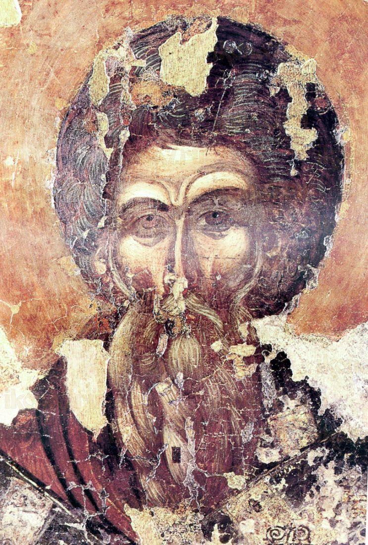 Икона Арсений Керкирский (копия старинной)