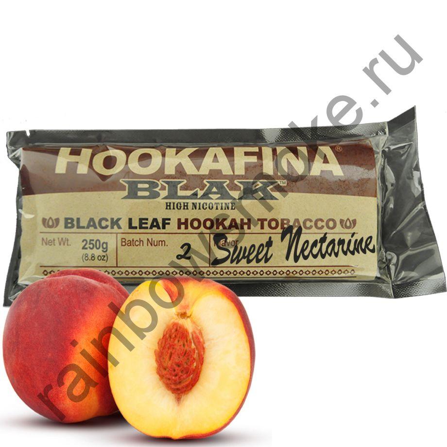 Hookafina Black 250 гр - Sweet Nectarine (Сладкий Нектарин)