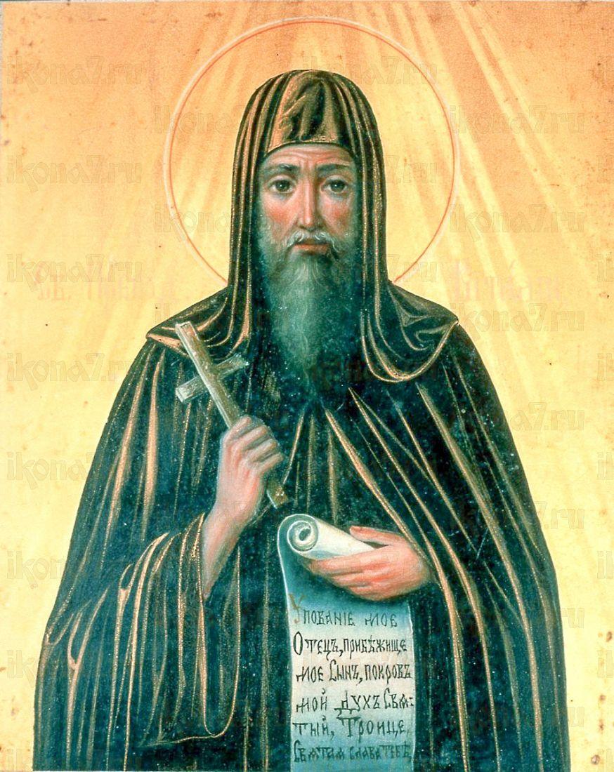 Икона Виталий Александрийский (копия 19 века)