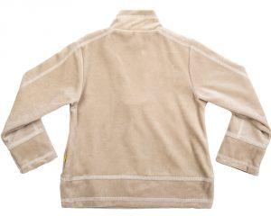 Велюровый джемпер для мальчика в цвете беж