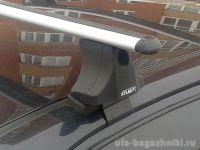 Багажник на крышу Chevrolet Spark (2005-11), Атлант, аэродинамические дуги