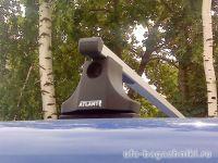 Багажник на крышу Renault Kangoo (1997-2008), Атлант, прямоугольные дуги